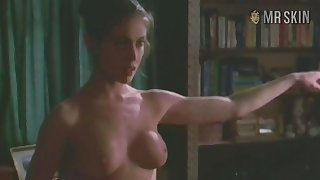 Fit minimal celebrity star Alyssa Milano unclouded her legendary tits