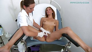 Lady Needs Gyno Check-up - lesbian fetish