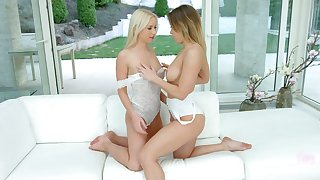Check out wondrous lesbian Vera Wonder who loves pleasing her naughty GF