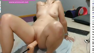 Amazing filthy Machine fucking cam