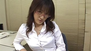 Pretty-faced Asian teacher enjoys as their way twat is being stacked doggystyle