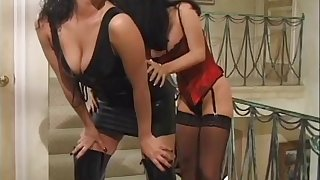 Staggering lesbian babe in arms gets her pussy licked unsystematically fingered in a close up shoot